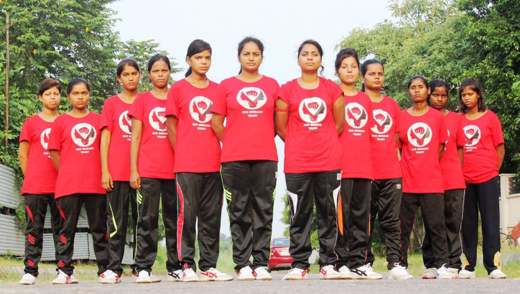 #InternationalGirlDay – India's Red Brigade Trust Run by Child Survivors of Rape and Acid Attacks
